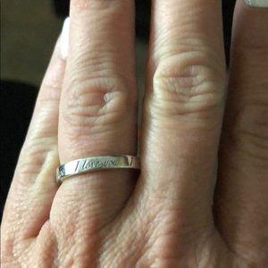 Tiffany I love you ring